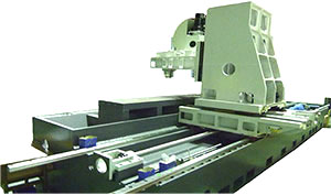 Long Work-Piece CNC Processing Machining Center